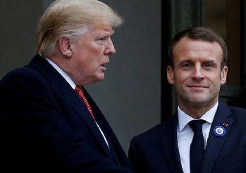 Macron: İran savaşını önlemek için Trump'la görüşeceğim