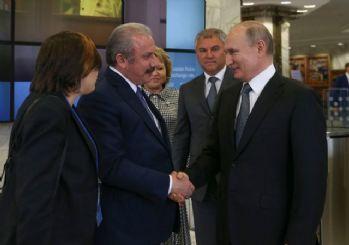 TBMM Başkanı Şentop Putin ile görüştü