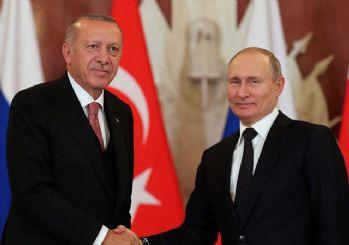 Erdoğan Putin'le telefonda görüştü!