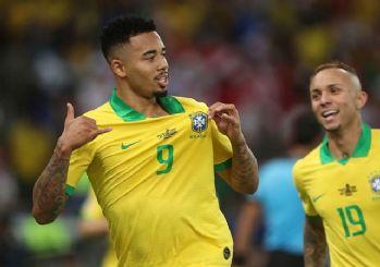 Kupa Amerika'da şampiyon Brezilya!