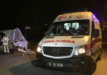 İstanbul'da trafik kazası: 2 ölü, 3 yaralı