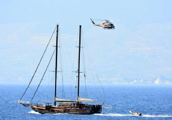Bodrum'da göçmen teknesi battı!