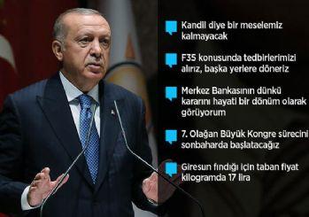 Erdoğan'dan faiz kararına ilk yorum: Piyasalar normal karşıladı