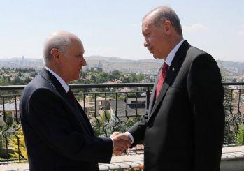 Başkan Erdoğan, MHP Genel Başkanı'nın evinde