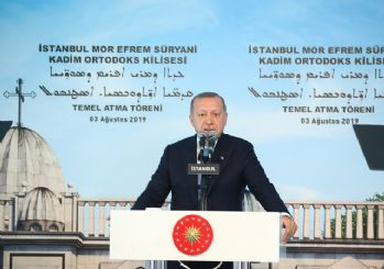 Erdoğan: Bu kiliseyi İstanbul için zenginlik olarak görüyorum