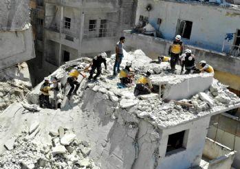 Katil Esed İdlib'e saldırı! Ölü ve yaralılar var