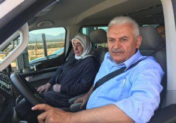 Yıldırım, İstanbul-İzmir Otoyolu'nda minibüs kullandı