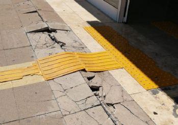 Denizli depreminden sonrası ilk fotoğraflar