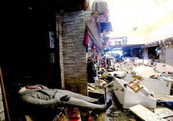 Eminönü'nde yaşanan selden sonra esnaf: Zararımız karşılansın!