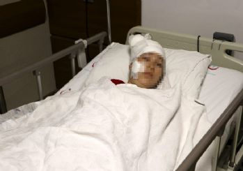 Doğum yapan eşini hastane odasında bıçakladı
