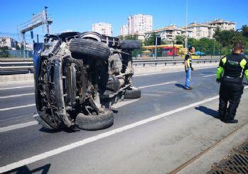 Avrasya Tüneli'nde kaza!