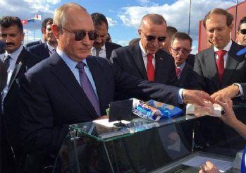 Putin, Erdoğan'a dondurma ısmarladı