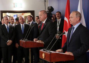 Cumhurbaşkanı Erdoğan ile Putin'in ortak açıklaması