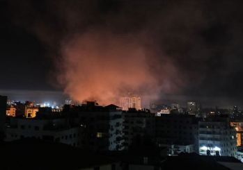 İsrail uçaklarından Gazze'ye saldırı