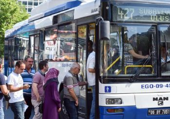 Ankara'da toplu taşımaya zam!