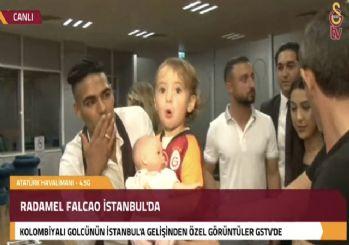 Radamel Falcao İstanbul'da!