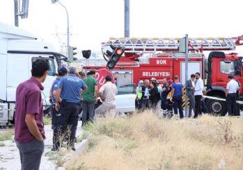 Hatay Emniyet Müdürü trafik kazası geçirdi!