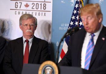 Trump'tan Bolton için 'O beni engelliyordu' yorumu