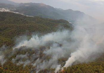 Muğla'daki yangın kısmen kontrol altına alındı