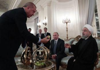 Erdoğan'dan incir ikramı!