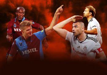 Trabzonspor-Beşiktaş maçının muhtemel 11'leri