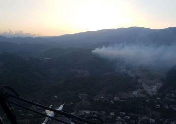 Hatay'ın 2 ilçesinde orman yangını!