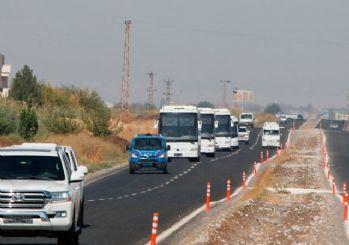 Suriye sınırına sevkiyat!