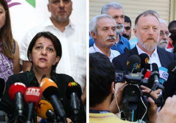 HDP'li Sezai Temelli ve Pervin Buldan hakkında soruşturma!