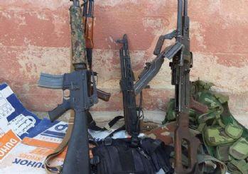 Tel Abyad'da YPG/PKK'lılar silahlarını bırakarak kaçtı!