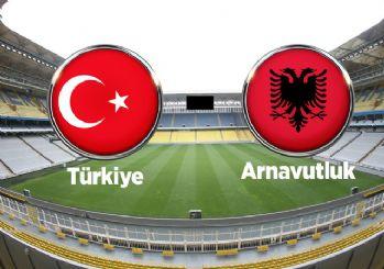 Türkiye-Arnavutluk maçının ilk 11'leri