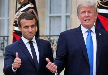 Macron'dan Trump'a 'Barış Pınarı' çağrısı!