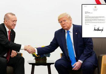 Trump'ın Erdoğan'a yazdığı mektup ortaya çıktı
