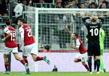 Beşiktaş Braga'ya da yenildi