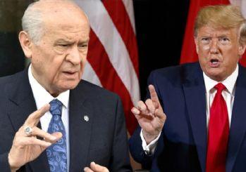 Bahçeli: Mektup Trump'a iade edilmeli
