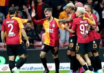 Galatasaray'a tek devre yetti! 2-0