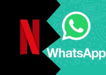 WhatsApp ile Netflix arasında iş birliği