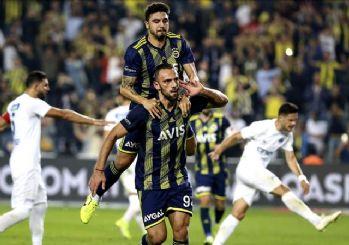 Fenerbahçe 3-2 yendi, liderliğe yükseldi