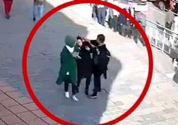 Başörtülülere saldıran provokatör yakalandı