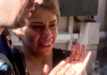 Başörtülü genç kızı darbeden kadın tutuklandı