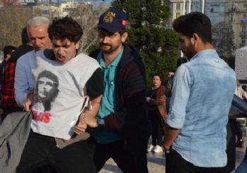 Rabia Naz için eylem yaparken gözaltına alınan liseliler serbest bırakıldı