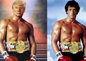 Trump'tan çok konuşulacak 'Rocky' paylaşımı