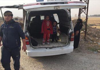 593 Suriyeli Tel Abyad'daki evlerine döndü
