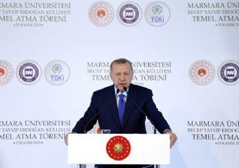 Erdoğan'dan Macron'a tepki: Önce sen kendi beyin ölümünü kontrol ettir