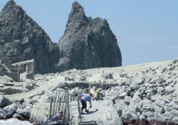 Yeni Zelanda'da yanardağ patlaması: Adada hayat belirtisine rastlanmadı