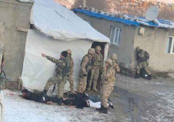 Ağrı'da teröristlerin öldürülme anı
