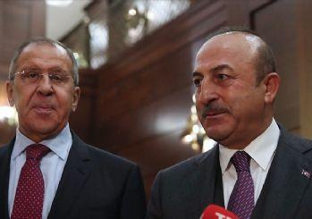 Çavuşoğlu ile Lavrov görüştü: Bölgesel gelişmeler ele alındı