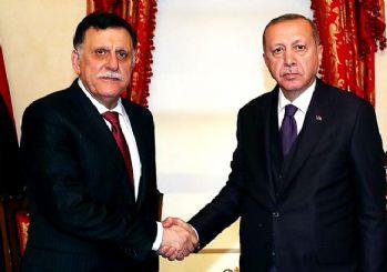 Dolmabahçe'de Libya ile kritik görüşme!