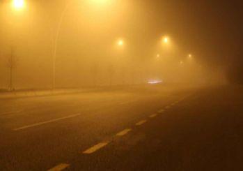 Ankara'da yoğun sis: Görüş mesafesi daraldı