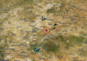 Elazığ'da 4.9 büyüklüğünde deprem