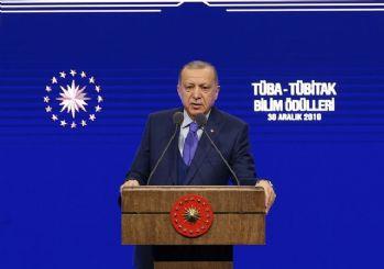 Erdoğan'da Kanal İstanbul açıklaması: İsteseler de istemeseler de yapacağız